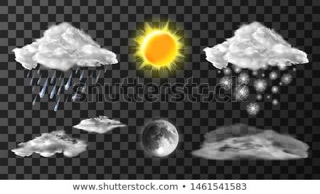 Meteo symbols Stock photo © gant