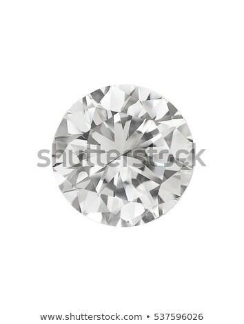 üst görmek büyük elmas yalıtılmış siyah Stok fotoğraf © Arsgera