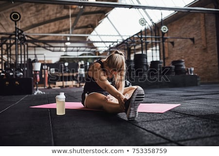 fit young blond stock photo © lithian