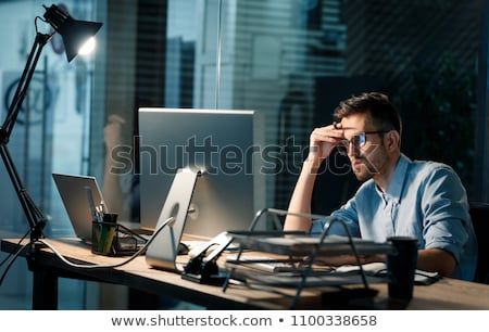 stressed office worker stock photo © photography33