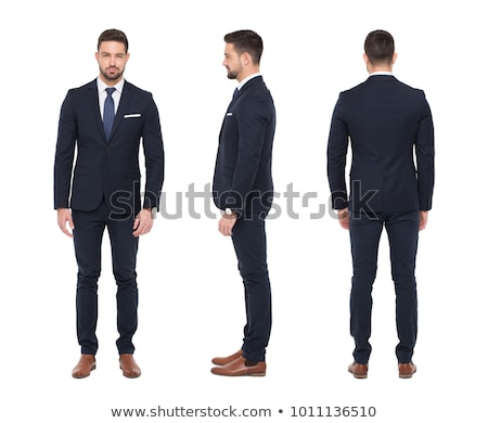 back view of a mature businessman stock photo © photography33