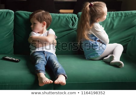 Siblings sulking. Stock photo © photography33