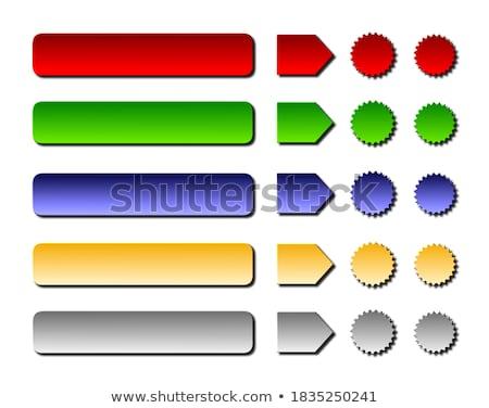 Set · glänzend · Sterne · Symbole · unterschiedlich - stock foto © pathakdesigner