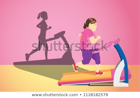 woman trying to lose weight stock photo © photography33