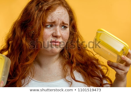 Pretty woman looking angry Stock photo © pedromonteiro