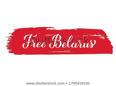 térkép · Fehéroroszország · politikai · néhány · absztrakt · Föld - stock fotó © perysty
