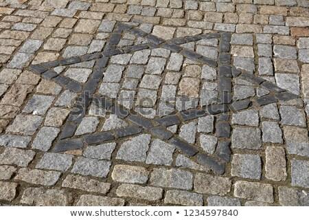 granito · escuro · cubo · sombra · isolado · pedra - foto stock © cherju