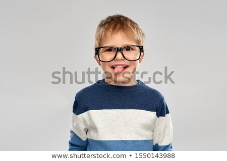 Little boy sticking tongue out Stock photo © photography33