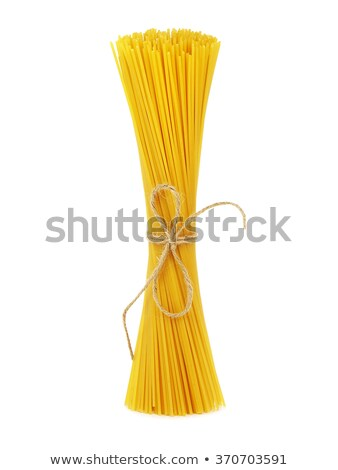 Bunch of spaghetti isolated Stock photo © ozaiachin