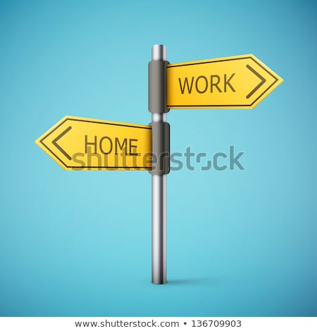 Road Sign with Words Right Way stock photo © Quka