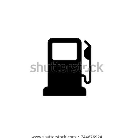 Ikona stacja benzynowa stacji benzynowej Zdjęcia stock © zzve
