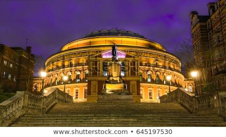 Royal Albert Hall at night Stock photo © Snapshot