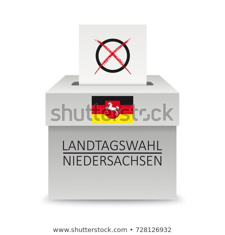 Сток-фото: Ballot Box Lower Saxony
