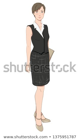 Professional dress code for waitress Stock photo © pzaxe