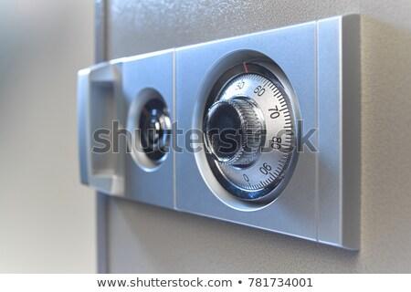 Mecánico combinación segura dinero Foto stock © Koufax73