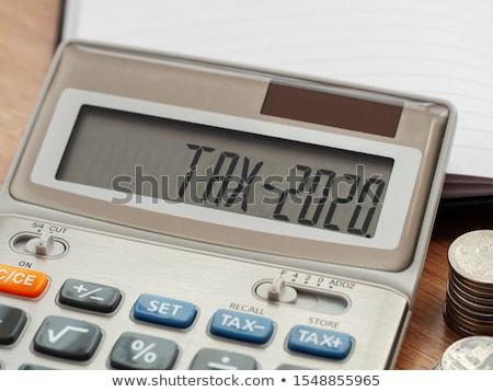Adó levél téglák helyesírás ki törvény Stock fotó © chrisdorney