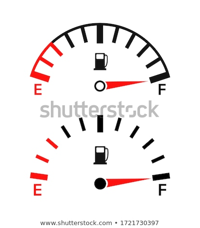 Fuel Guage (Vector) stock photo © Editorial