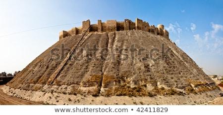 ver · Síria · cidade · viajar · edifícios · turista - foto stock © travelphotography