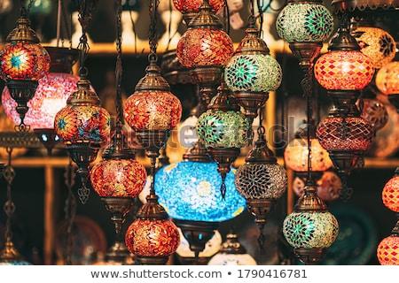 Colorido tradicional turco luzes diferente exibir Foto stock © Kuzeytac