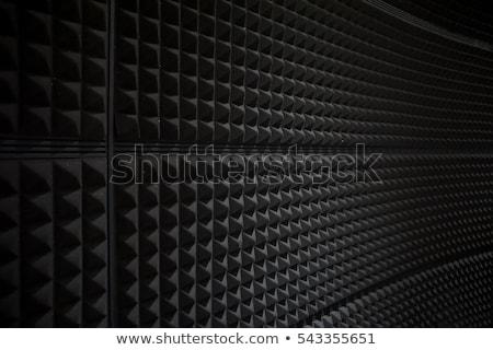 Photo stock: Mur · sonores · résumé · vue · stade · orateurs