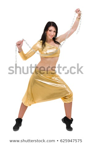 Attractive modern dancer showing some movements Stock photo © stepstock