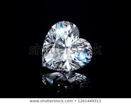 értékes · drágakövek · csoport · gyémántok · háttér · fekete - stock fotó © taichesco
