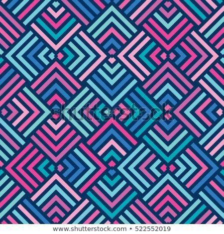 аннотация геометрический красочный шаблон текстильной Сток-фото © SelenaMay