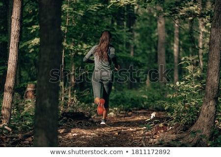 running women stock photo © kurhan