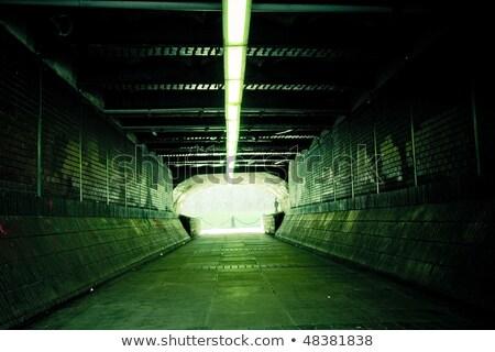 Voetganger metro Duitsland stad muur winkelen Stockfoto © meinzahn