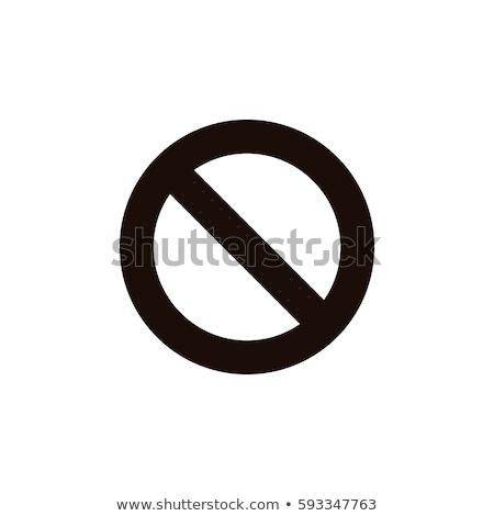 geen · mobiele · telefoons · toegestaan · illustratie · tonen · teken - stockfoto © krisdog