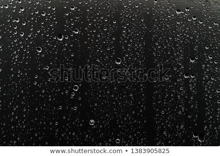 regendruppels · metaal · Rood · voertuig · paneel · auto - stockfoto © nelsonart
