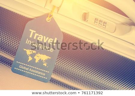 ubezpieczenia · pliku · szuflada · etykiety · odizolowany · biały - zdjęcia stock © tashatuvango