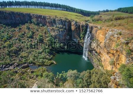 Berlin vízesés folyó Dél-Afrika víz hegy Stock fotó © intsys