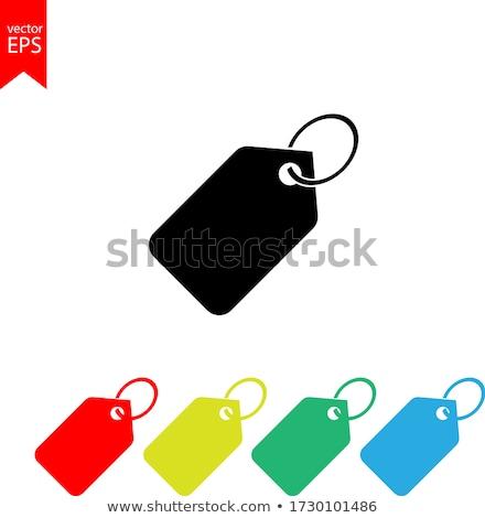 Stock fotó: Címke · ikon · piros · internet · felirat · weboldal