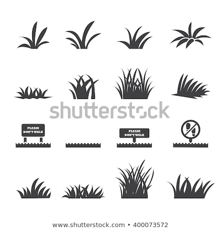 weed icon Stock photo © glorcza