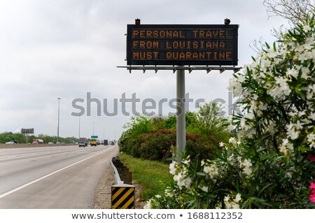 personal information on highway signpost stock photo © tashatuvango