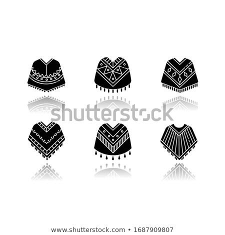 Pack of maya glyphs Stock photo © morrmota