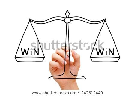 Win Win Scale Concept Stock photo © ivelin