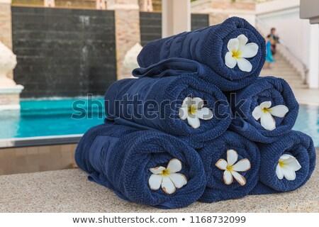 Estância termal conjunto terapia branco Foto stock © aza