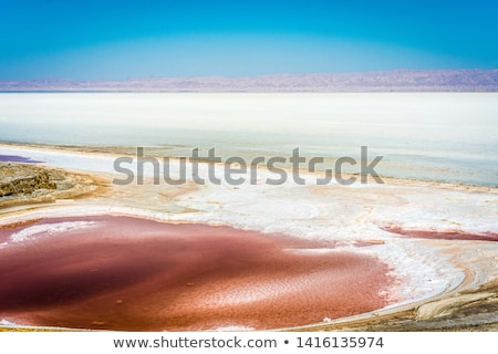 Salt Lake of Tunisia  Stock photo © dashapetrenko