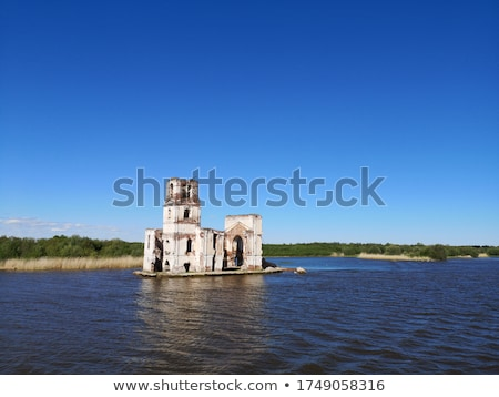Dilapidated Church Building  Stock photo © hpbfotos