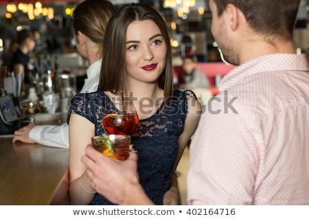 Donne flirtare due donne donna ragazza telefono Foto d'archivio © rikke