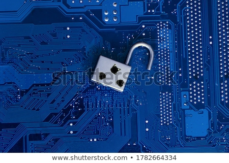 Biztonság sebezhetőség törött kulcs írott szó Stock fotó © olivier_le_moal