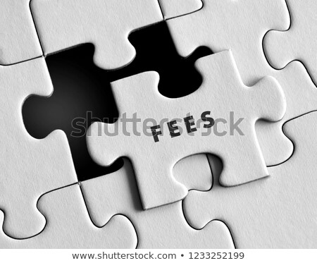 Fee - Jigsaw Puzzle with Missing Pieces. Stock photo © tashatuvango