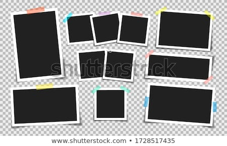 Foto immediato photo frame abstract design frame Foto d'archivio © donatas1205