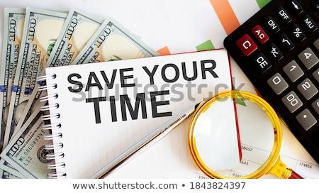 your chance office working concept stock photo © tashatuvango