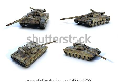 Szovjet tank fő- hadsereg korai 1960 Stock fotó © artfotoss