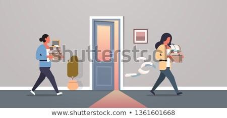 Competition work dismissal businesswoman vacancy Stock photo © studiostoks