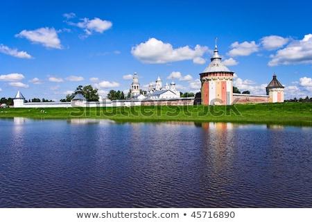 Klasztor niebo budynku miasta krajobraz lata Zdjęcia stock © Mikko
