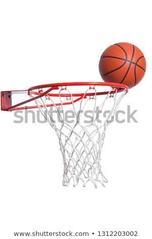 Koszykówki odizolowany biały lata przestrzeni zespołu Zdjęcia stock © shutswis